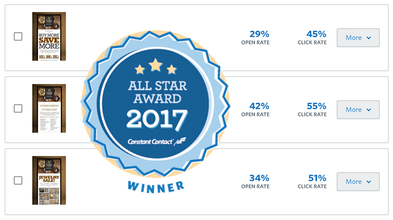 Constant Contact 2017 All-Star Winner