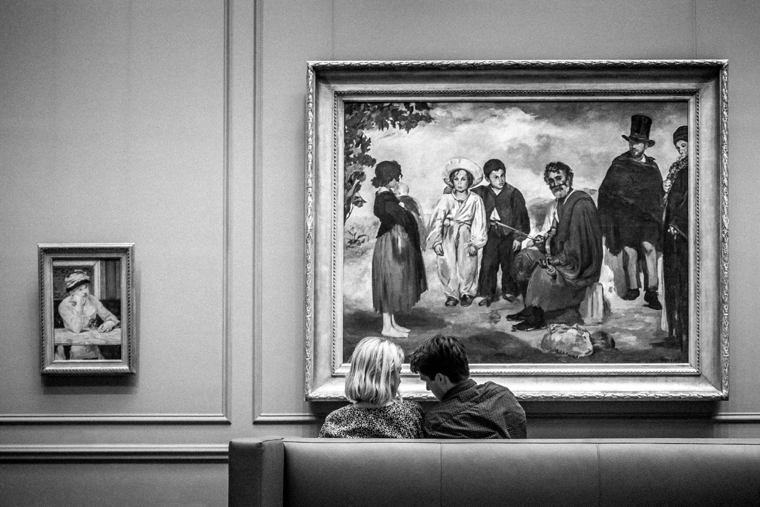 A Couple at the D.C. National Gallery of Art Being Observed by the Art