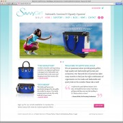 Savvy Girl Golf Web Design
